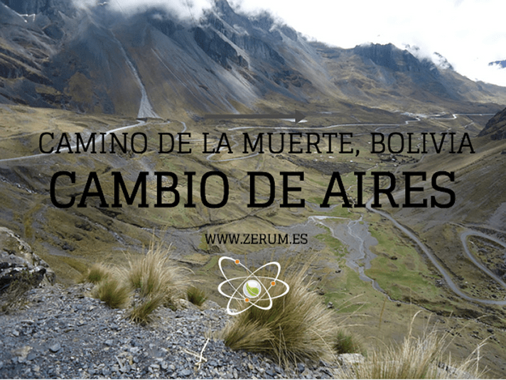 Camino de la muerte Bolivia