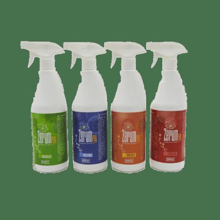 Neutralizador zerum spray tabaco cocina baño 750 ml