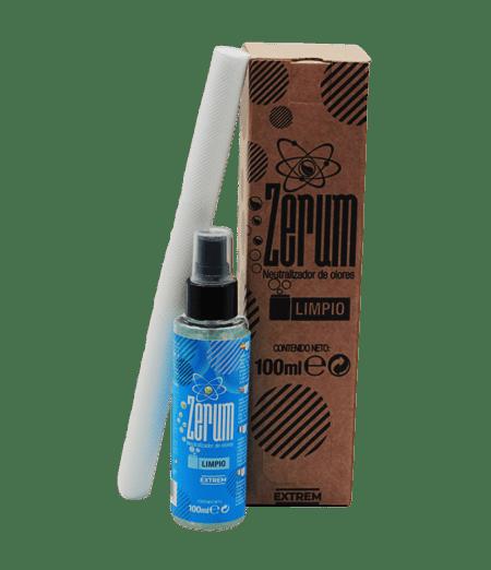 Neutralizador de olor zerum extrem eliminar malos olores