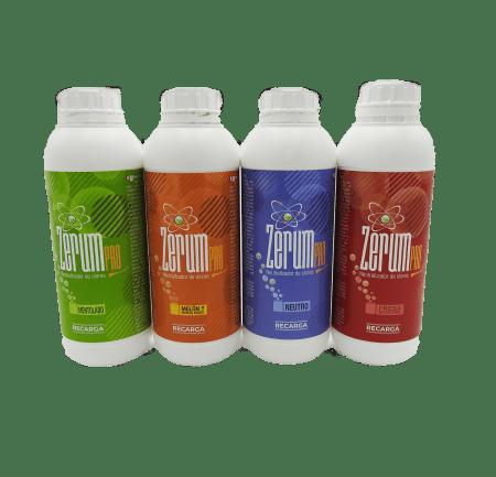 Neutralizador de olores ZerumPro Recarga Sigue en auge la versatilidad de nuestros productos